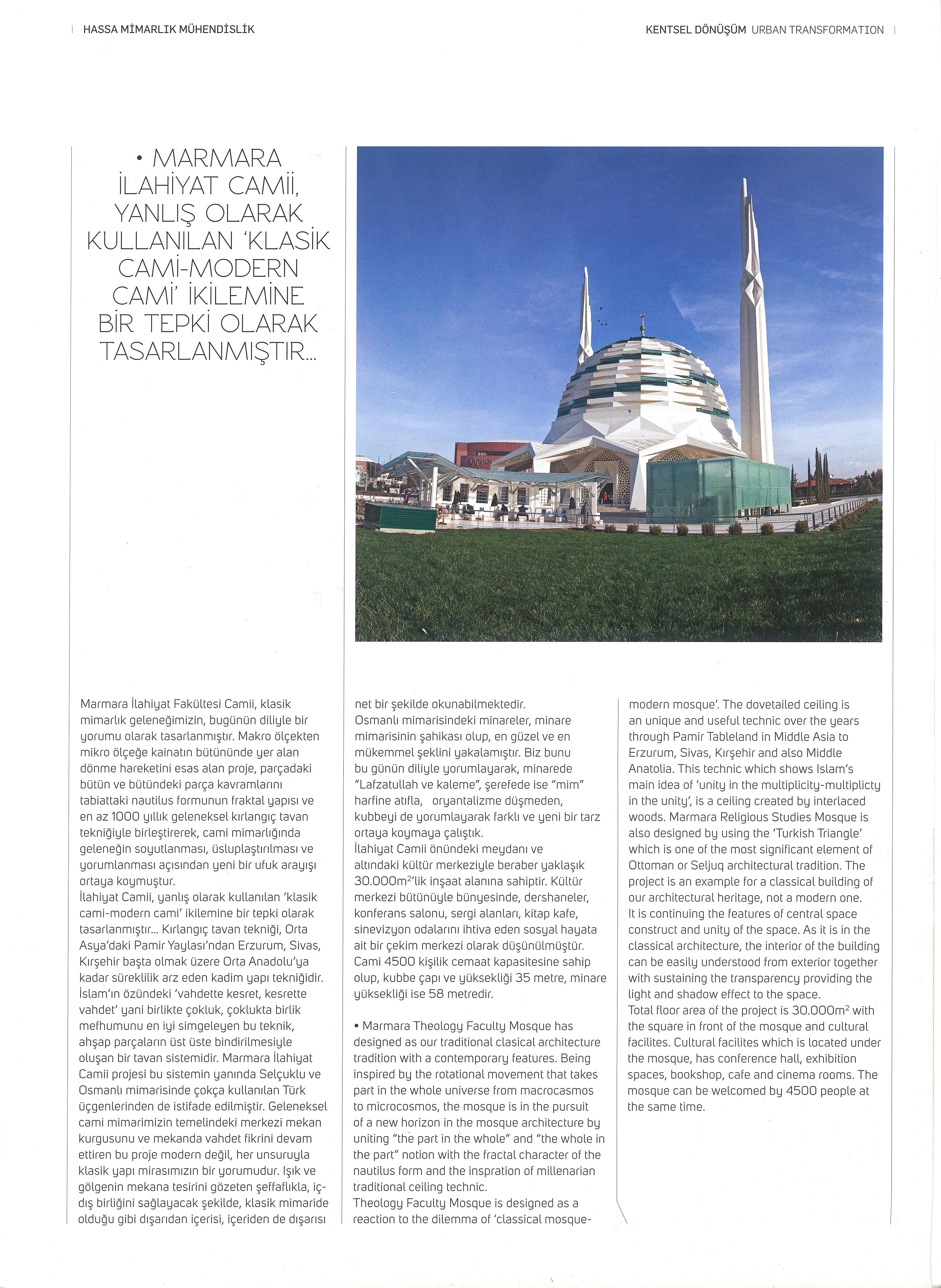 Marmara İlahiyat Fakültesi Camii