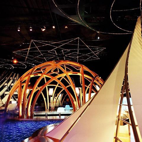 """""""Nature's Wisdom Award"""" Expo 2005 Aichi, Japan Turkey Pavillion"""