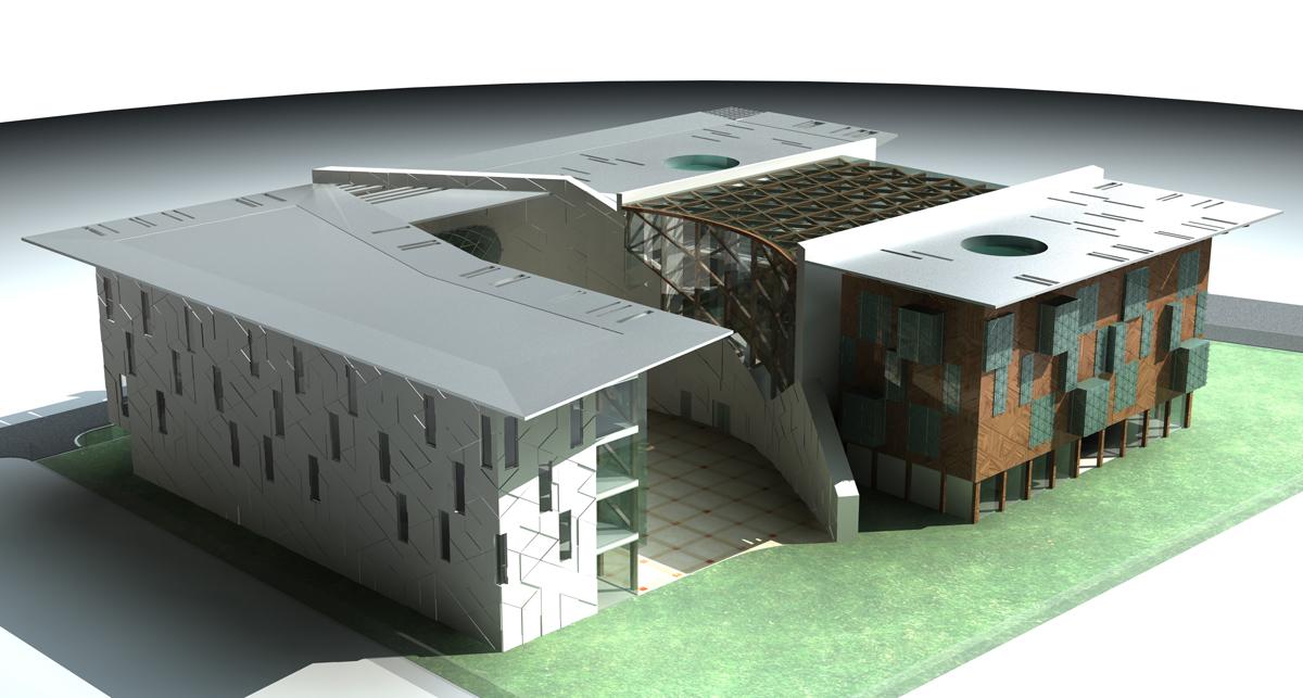 TC Berlin Büyükelçilik Binası Yarışma Projesi
