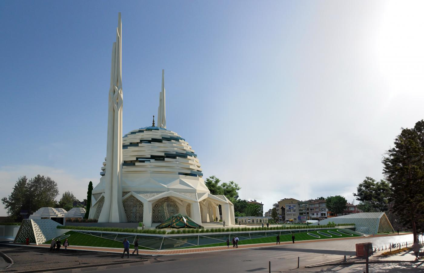 الجامع التطبيقي بكلية الإلهيات جامعة مرمرة باسطنبول