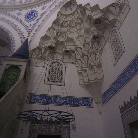 التطور العثمانية بشأن المقرنس
