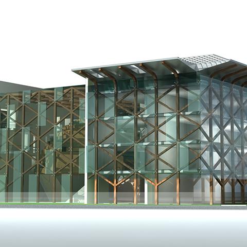 مشروع مبنى السفارة التركية ببرلين