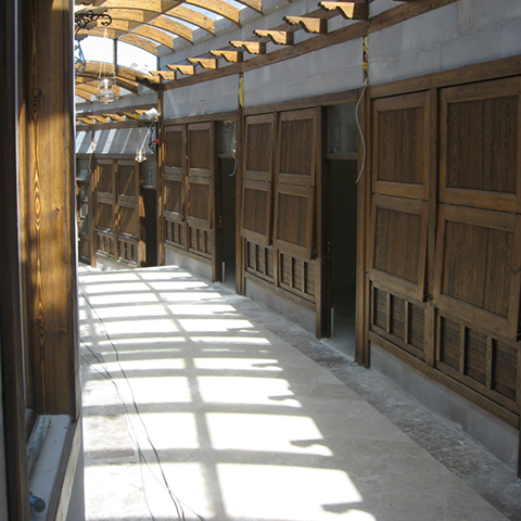 سوق تبريز قابي التاريخي بأرضروم