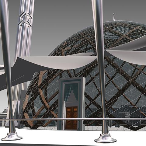 Köln Mosque Architectural Design Competition Project