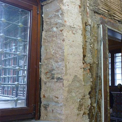 エユップ/スルタン廊の修復